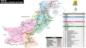 Karakoram Range Map National Highways Authority U2013 Committed To Excellence