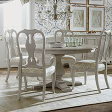 Shop Dining Tables Kitchen  Dining Room Table Ethan Allen - Round wood dining room tables