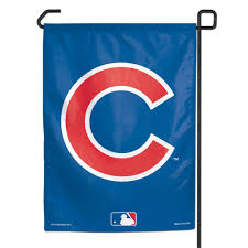 French Flag Banner Chicago Cubs
