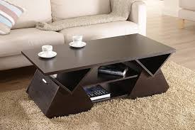 espresso wood coffee table amazon com iohomes chinua modern coffee table espresso kitchen