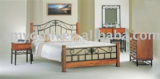 Wood And Iron Bedroom Furniture by Wood And Metal Bedroom Furniture Metal And Wood Bedroom Sets Foter