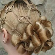 celtic wedding hairstyles celtic hair for irish wedding hairstyle pinteres