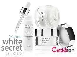 Wardah White Secret Yg Kecil daftar harga wardah white secret series terbaru 2018