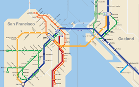 Dublin Bart Map Maps Bart System Map Blog With Collection Of Maps All Around
