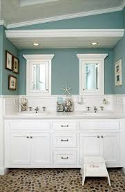 bathroom recessed lighting with wall decor also white bathroom