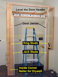 How To Frame A Wall by Framing A Basement Wall With A Door Bjhryz Com