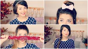 how to quick u0026 easy hair styles zoella youtube