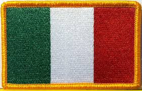 Italy Flag Images Amazon Com Italy Flag Embroidered With Velcro Patch Mc Biker