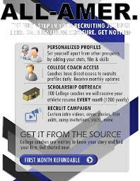 Champs Sports Resume All American Athletic Brochure Recruit Champs