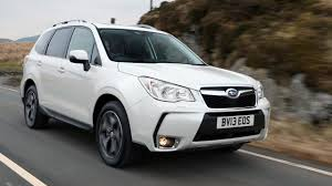 white subaru forester interior subaru forester review top gear
