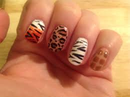 safari nails a fab cutepolish design beauty pinterest