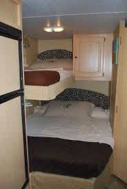 Best RV Interiors  Ideas Images On Pinterest Camping Ideas - Rv bunk bed mattress