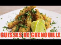 grenouille cuisine les cuisses de grenouille en persillade par notre chef
