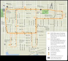 La Metro Bus Map by Dash Wilmington Ladot Transit Services