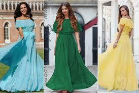 rochii de vara rochii de vara vaporoase cu volane pe umeri lungi si scurte