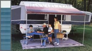 Rv Awning Screen Room Pop Up Camper Awnings And Screen Rooms Hanna Trailer Supply Oak