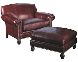 leather chair and a half with ottoman chair and a half classic leather bonaire chair and a half 2204