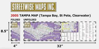 Maps Tampa Streetwise Tampa Map Laminated City Center Street Map Of Tampa