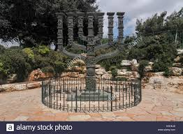 knesset menorah knesset menorah in front of the knesset in the park of roses in