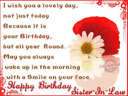 image result for happy birthday photos for your sister in law