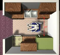 Galley Kitchen Width - accessible design in public housing nycha staff training program