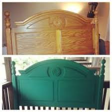 painted headboard paint vintage old headboards for updated fun contemporary or cottage