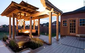 deck lighting ideas options texas home exteriors