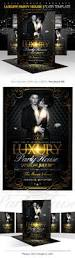 luxury party house flyer template on behance