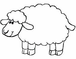 cute sheep color page lost sheep coloring page sheep coloring