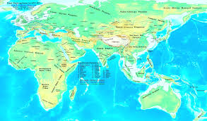 A Map Of Europe A Map Of Europe And Asia Travel Maps And Major Tourist