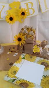 Sunflower Decorations Sunflower Baby Shower Burlap Party Supplies Burlap Shower Buffet