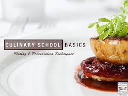 cuisine techniques culinary basics plating presentation techniques