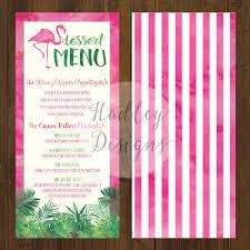 Wedding Invitations With Menu Cards Hadley Designs Menus
