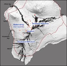Hawaii Lava Flow Map Hawaiian Volcano Observatory