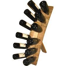 handmade wooden 12 bottle wine rack