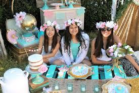 sweet 16 birthday party ideas boho themed birthday party ideas shindigz shindigz