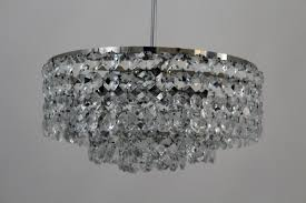 Vintage Crystal Chandelier For Sale Vintage Crystal Chandelier From Bakalowits For Sale At Pamono