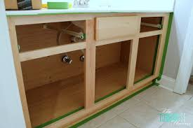 How To Refinish Kitchen Cabinets With Paint The Average Diy U0027s Guide To Painting Cabinets