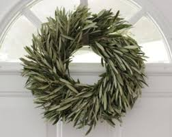 olive branch wreath 20 dried easter