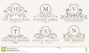 retro royal vintage shields vector luxury logo design elements