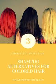 shampoo alternatives for colored hair handmadeselling com