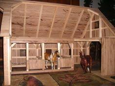 hand crafted wooden toy barn 1 by wild cat hollow creations