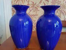 Cobalt Blue Vases Vase Cobalt Glassware Ebay