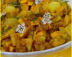 cuisiner les courgettes jaunes recette chutney de courgettes jaunes 750g