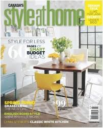 Home Decor Magazines Canada Style At Home Wikipedia