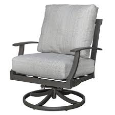 Swivel Patio Chair Gray Outdoor Swivel Patio Chair Cancun Rc Willey Furniture Store