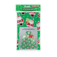 jumbo plastic santa claus present bag gift