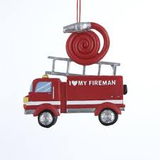 firefighter ornaments ornaments