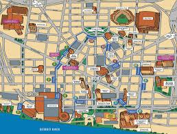 Detroit Metro Airport Map detroit metro map travel holiday map travelquaz com