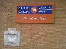 bureau de poste st jean bureau de poste de l anse st jean l anse st jean post office